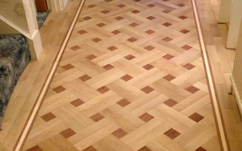 Parquet Floor Fitting