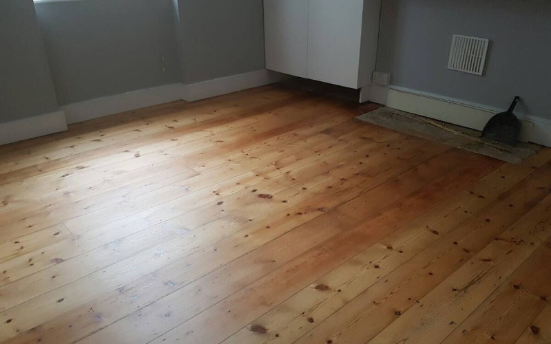 Pine Flooring Renovation - After