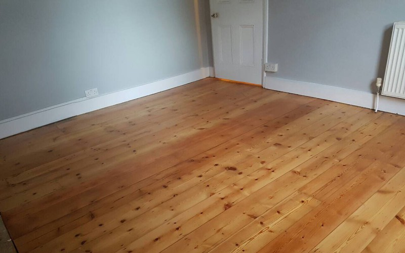 Floor Boards Sanding - After