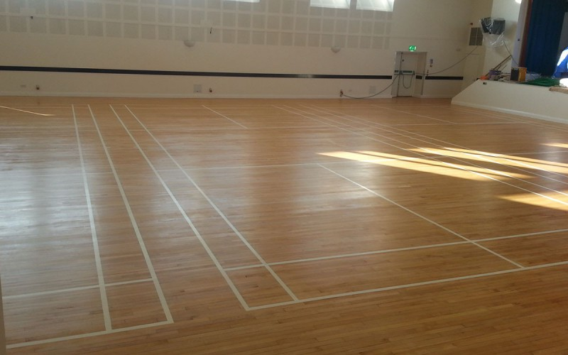 Sports Hall Renovation